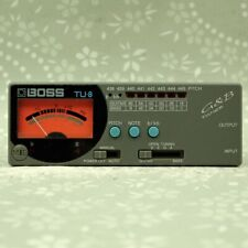 BOSS TU-8 Tuner Guitar Bass Tuner (NK18386)