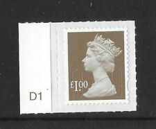2012:   £1 - year code M12L - CYLINDER SINGLE  - EX COUNTER SHEET