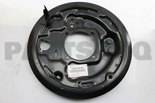 4704335150 Genuine Toyota PLATE SUB-ASSY, BRAKE BACKING, REAR RH 47043-35150