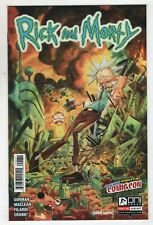 Rick And Morty 6 Oni 2015 NM Tom Fowler NYCC New York Comic Con Variant