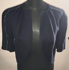 Women's Tsumori Chisato giacca corta cotone nero. Taglia 2. i piccoli mai indossato.