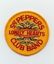 """Vintage Beatles """"Sgt. Peppers Lonely Hearts Club Band"""" 3"""" Original Patch MINT"""