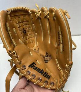 "Franklin 4661TN 11-1/2"" Leather Baseball Softball Glove Mitt Left Handed RHT"