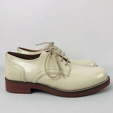 G H BASS Women's Beige Albany Derby Shoes UK 3 | EU 36 | US 5 | RRP £150