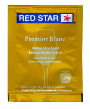 Wine Yeast 10 Pack Red Star Premier Blanc Fermentis Champagne Yeast