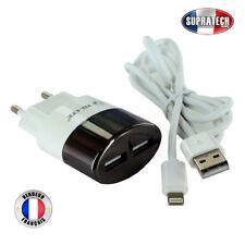 Chargeur Secteur Blanc Lightning pour Apple iPhone 5 5C 5S 6 6S 6 Plus 6S Plus