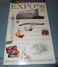 Portugal * Guia da Exposicao Mundial * De Lisboa Expo 98 * 35pgs * Portuguese