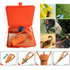 Emergency Venom Extractor Pump First Aid Camping Snake Bee Bite Suction Tool Kit
