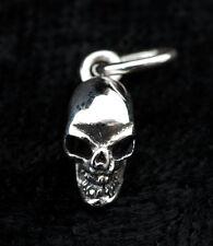 PENDENTIF TETE DE MORT-CRANE EN-ARGENT 925-1.4g-BIJOU MYSTIQUE-W14 10010