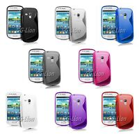 TPU Gel S Line Silicone Case Cover Skin For Samsung Galaxy S Duos GT-S7562
