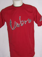 TEE SHIRT Manches Courtes adulte neuf Umbro taille M ou L coloris rouge