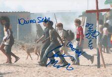Les trois Points D'interrogation & NAIMA Sebe AUTOGRAPHEs signed 20x30 cm image