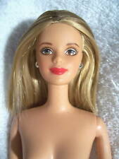 NUDE-Barbie-20442-Head Mold:Mackie-Body Type:Twist 'n Turn-Hair Color:Blonde