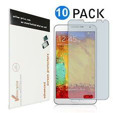 10X Samsung Galaxy Note 3 Anti-Glare&Fingerprint Killer Screen Protectors Films