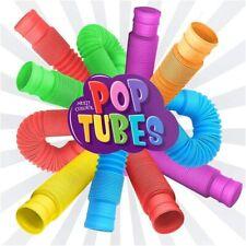 Kids Fidget Toys Autism Sensory Tubes ADHD Stress Relief Montessori Educational