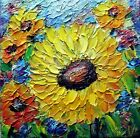 Fresh Fall Mums, Yellow Orange Chrysanthemums Zinnias Flowers Fall Original Art