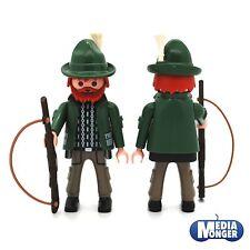 Playmobil ® bosque Forsthaus personaje: cazadores en Tracht con rifle nuevo con embalaje original de 6840