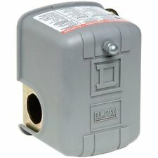 Waterproof Pumptrol Water Pressure Switch with Low Pressure Cut-Off by Square D