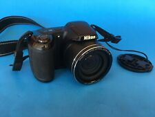 Nikon Coolpix L330 Digital Camera - 26x wide optical zoom lens, w/ memory card +