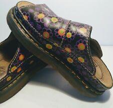 Vintage Dr. Doc Martens Women's Sandals Groovy Mod Hippy Flower Power Us 8 7 41