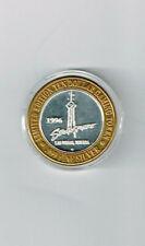 1996  Stratosphere Las Vegas TEN DOLLAR .999 SILVER Gaming Coin Token Rare