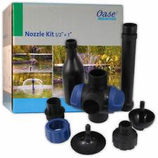 "OASE Nozzle Kit 1/2"" 1"" Pond Fountain T-piece Adjustment Filter Pump Fish 50089"