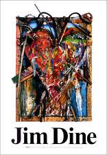 Jim DINE Heart Sweden Gallery Exhibition Poster 39 x 27-1/2