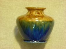 Regal Mashman vase in brown/green and blue #2