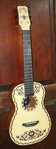 Disney Pixar Coco By Cordoba Spruce Mahogany Mini Acoustic Guitar