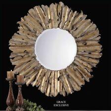 Uttermost Hemani Mirror in Antique Gold
