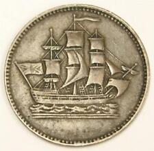 PEI Canada Ships colonies & Commerce Half Penny token BR-997 PE-10-19 VF