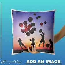 Personalised Photo Pillowcase Cushion Pillow Case Cover Custom Gift with 1 Photo