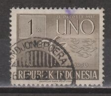 Indonesia Indonesie 106 TOP CANCEL TANDJONGPOERA 1951 6 years United Nations
