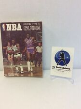 1976-1977 NBA GUIDE OFFICIAL THE SPORTING NEWS