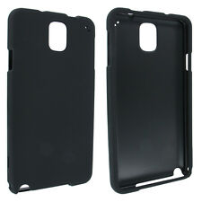 Black Snap-On Hard Case Cover for Samsung Note 3