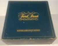 Trivial Pursuit Master Game-Genus Edition Vintage 1983