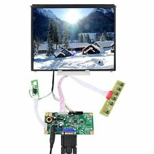 "VGA Input LCD Controller Board 9.7"" 1024x768 IPS LCD Screen DIY LCD Monitor"