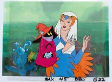 He-Man original production Cels: SORCERESS & ORKO