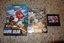 Batter Up (Sega Game Gear, 1991) Complete in Box