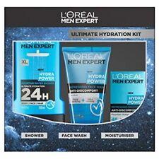 L'Oreal Men Expert Ultimate Hydration Trio Kit 3 Piece Xmas Skin Care Gift Set
