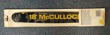 """OEM 219276 97793 MuCulloch 18"""" Chainsaw Bar NOS .375 Pitch .050 Gauge 380 Series"""