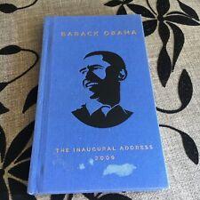 BARACK OBAMA. THE INAUGURAL ADDRESS 2009. 9780143116424