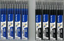 12 PILOT Frixion Ball Tintenroller Ersatzmine 1,0mm L Minen BLSFR10 blau schwarz