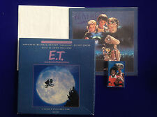 MICHAEL JACKSON JOHN WILLIAMS E.T. THE EXTRA TERRESTRIAL MCA Cassette box set