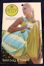 FIELD BAG AND TOTE SEWING PATTERN, From Amy Butler Design NEW