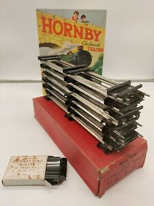 HORNBY O GAUGE CLOCKWORK TRACK  UNUSED , New Old Stock PLEASE READ LOT 6