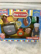 Little Tikes Shop 'N Learn Smart Lunch Imaginative Play Smart Scan Tech gift