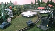 """Z SCALE 1.5"""" INCHS ALIEN UFO FLYING SAUCER UNIDENTIFIED SPACE DISC NEW"""