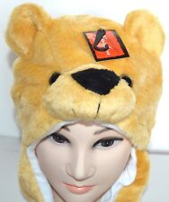 c08d0a481e4 Adults Kids Bear Faux Fur Animal Hat Winter Christmas One Size