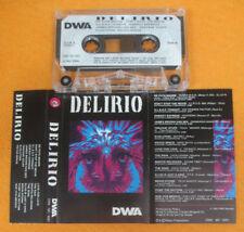 MC compilation DELIRIO 1992 HYSTERIA VIRUS 666 C TRONICS SECRET no cd lp dvd